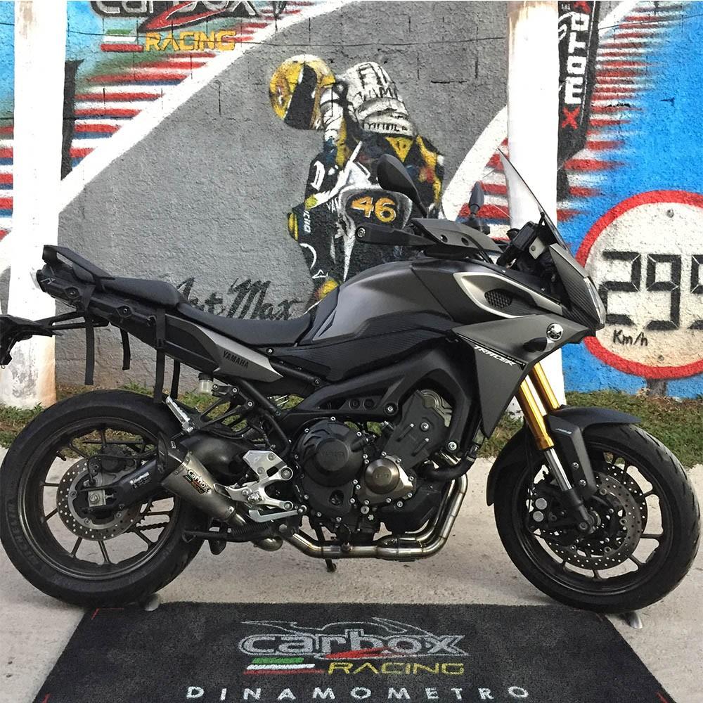 Escapamento Scorpion Gp720 Inox Full 3x1- Mt-09 Tracer