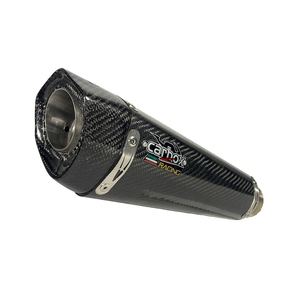 Escapamento Viper Carbon Full 2x1 - Z400