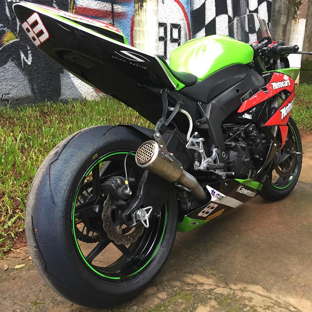Escapamento X-evo Inox Full Race 4x2x1 - Zx6r