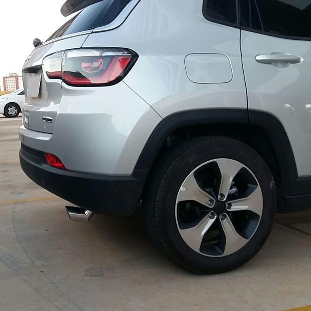 Lançamento Ponteira Escape Elite Alumínio Jeep Compass