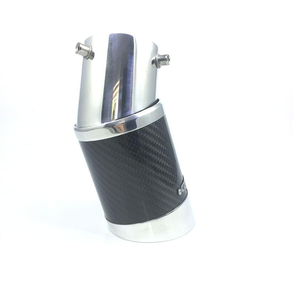 Ponteira Elite Fibra De Carbono Fiat Palio 10 Á 12
