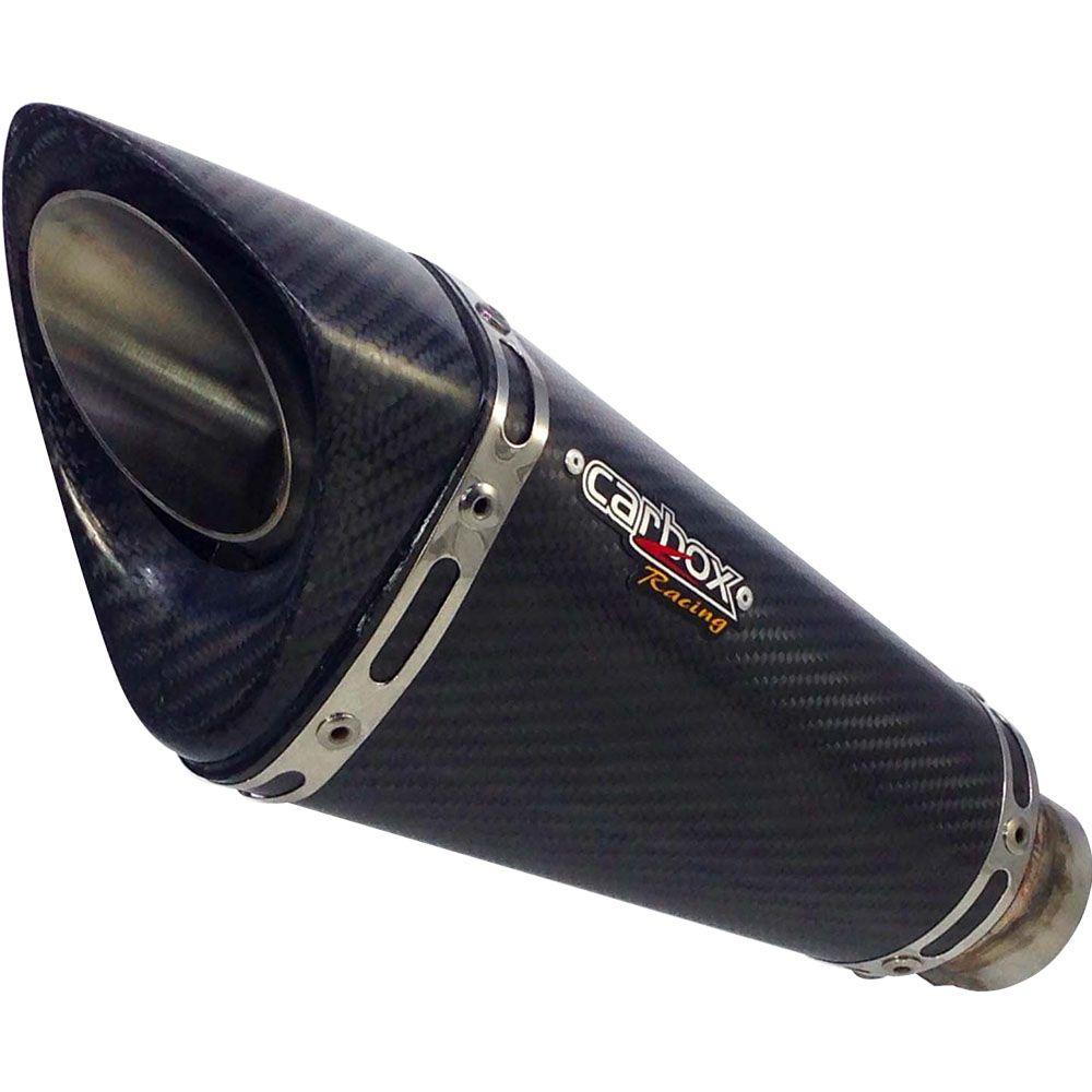 Ponteira Escapamento Gp720 Carbon Full 4x2x1 - Cb650f
