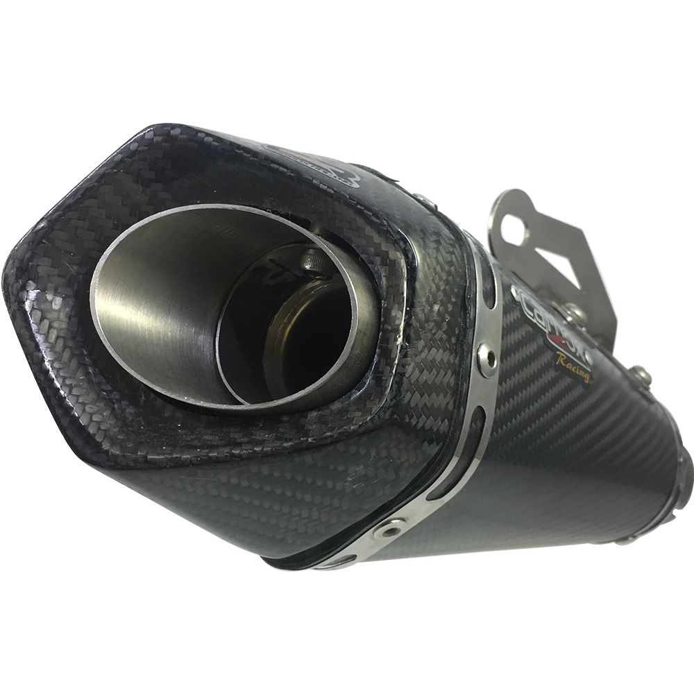 Ponteira Escapamento Shark Gp920 Carbon Full 2x1 - Cb1000r