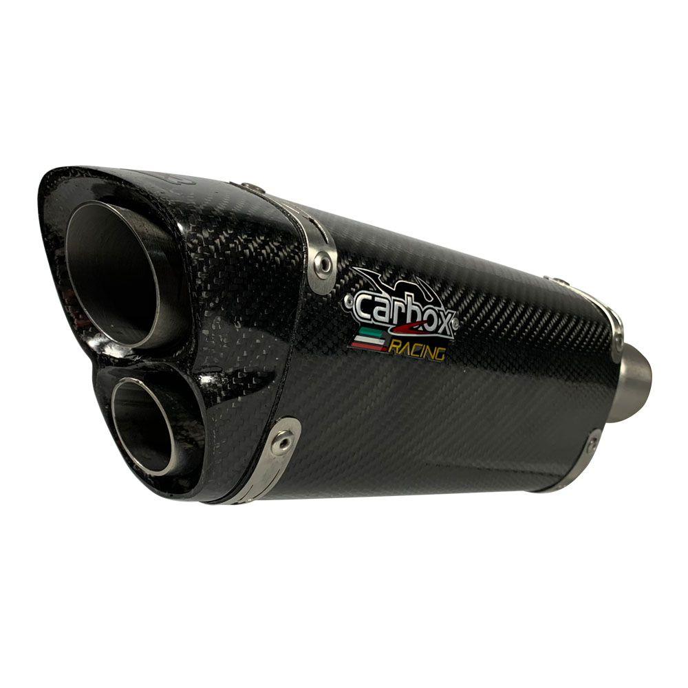 Ponteira Escapamento V8 Carbon Full - Honda Crf 250 F