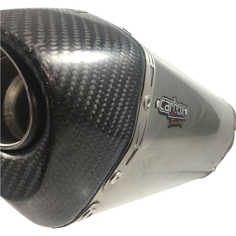 Ponteira Escape H625 Inox Full 2x1 - Yamaha R3