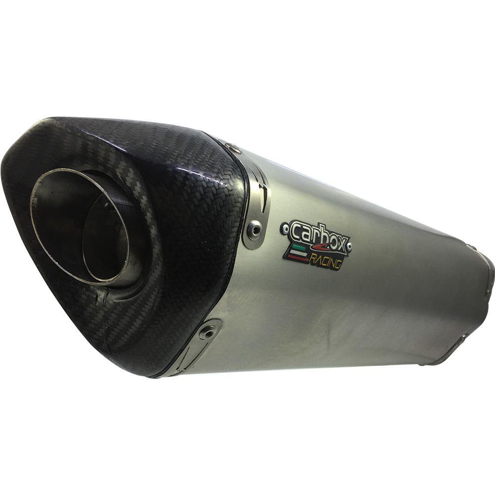 Ponteira Escape H725 Inox Full 4x2x1 - Hornet Cb600