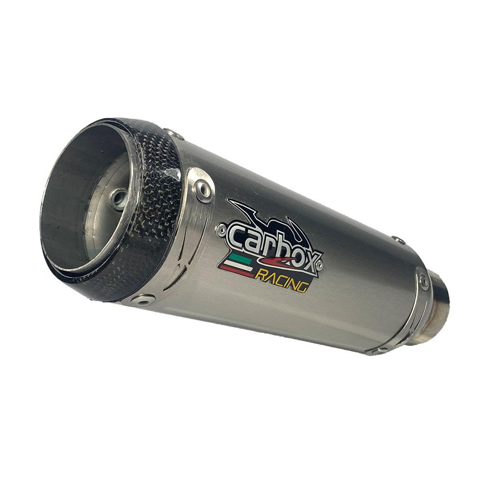 Ponteira Esportiva Gp Tech Inox - Cb500f