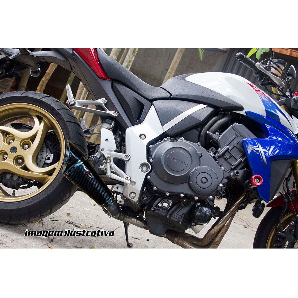 Ponteira Esscapamento Scorpion GP 720 Carbon Full 2x1 - CB1000r