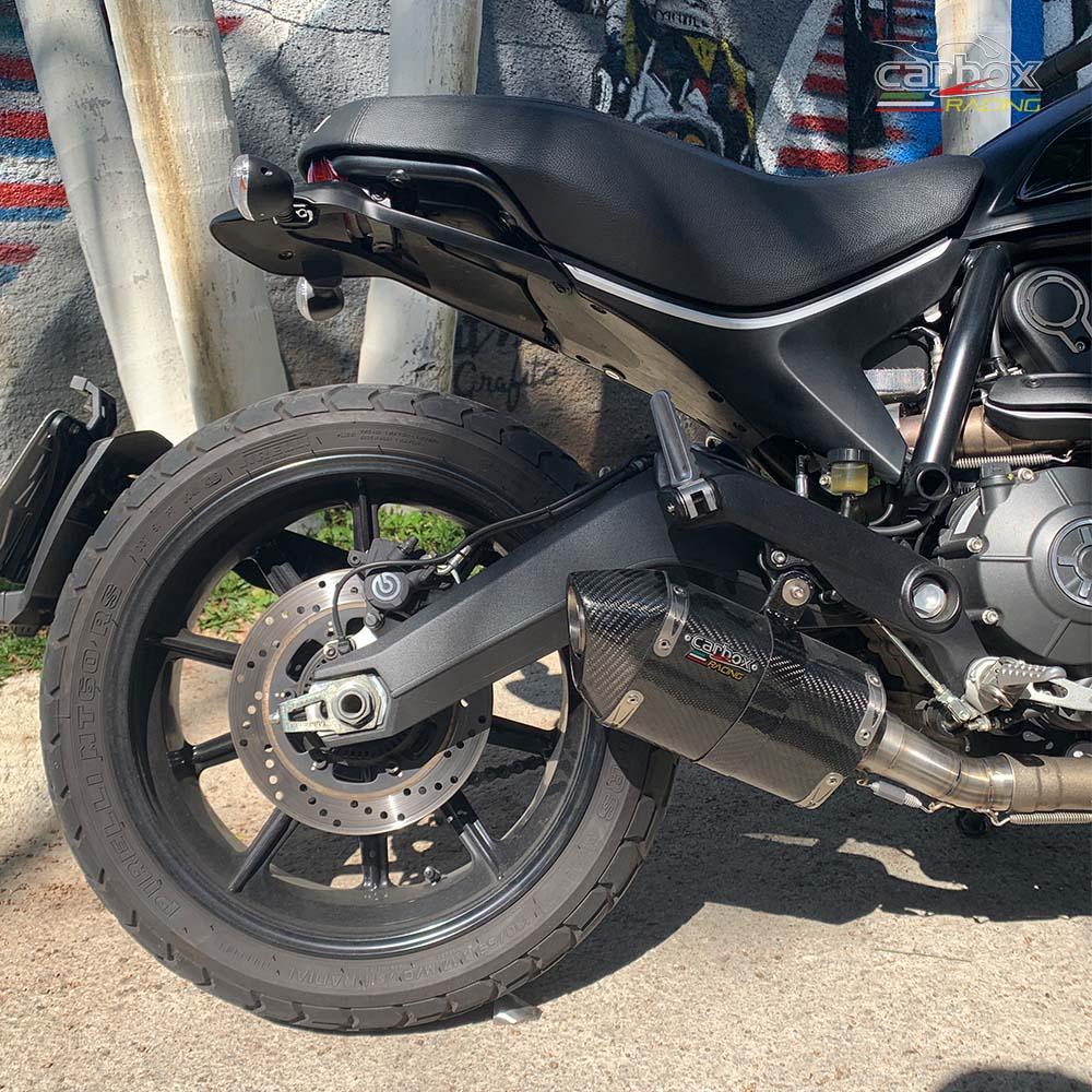 Ponteira H620 Carbono - Ducati Scrumbler