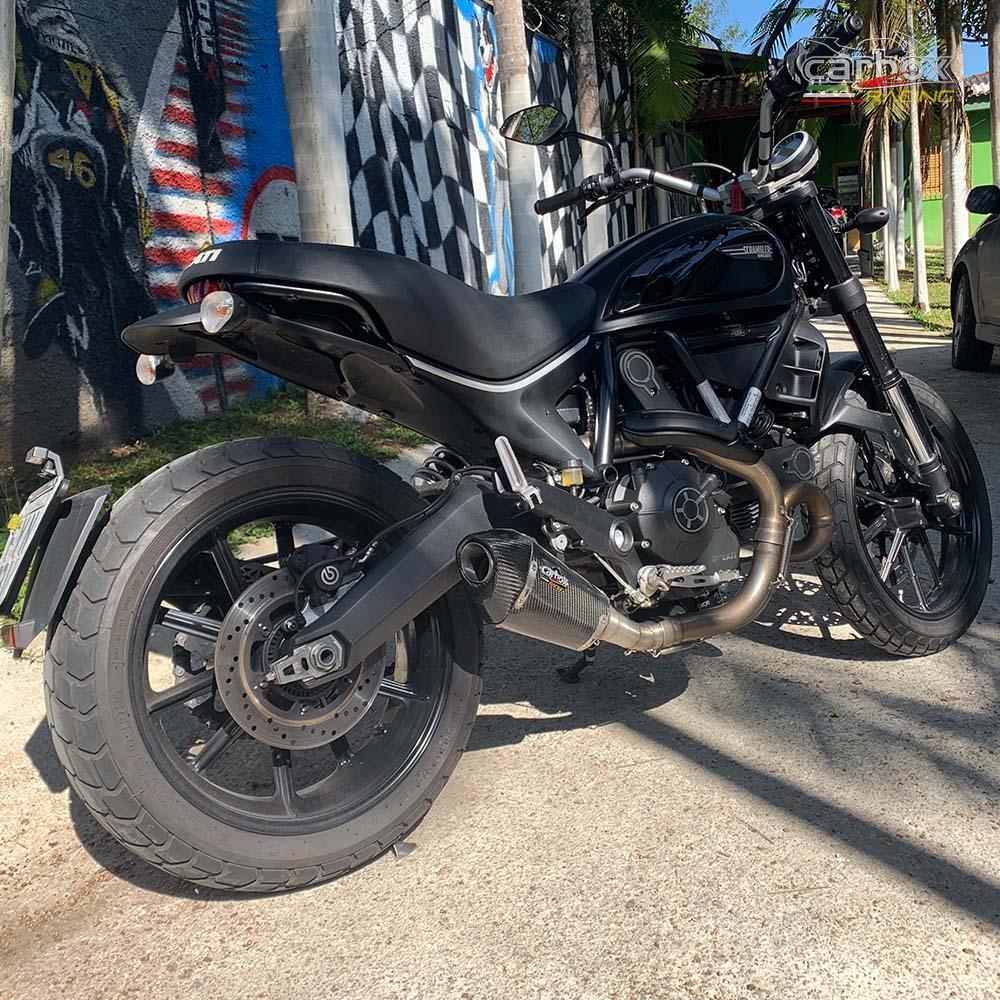 Ponteira H620 Gp Carbono - Ducati Scrumbler