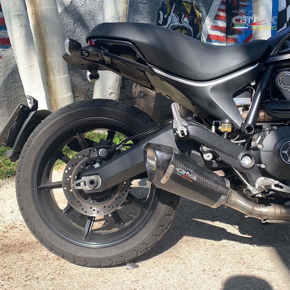 Ponteira H720 Gp Carbono - Ducati Scrumbler