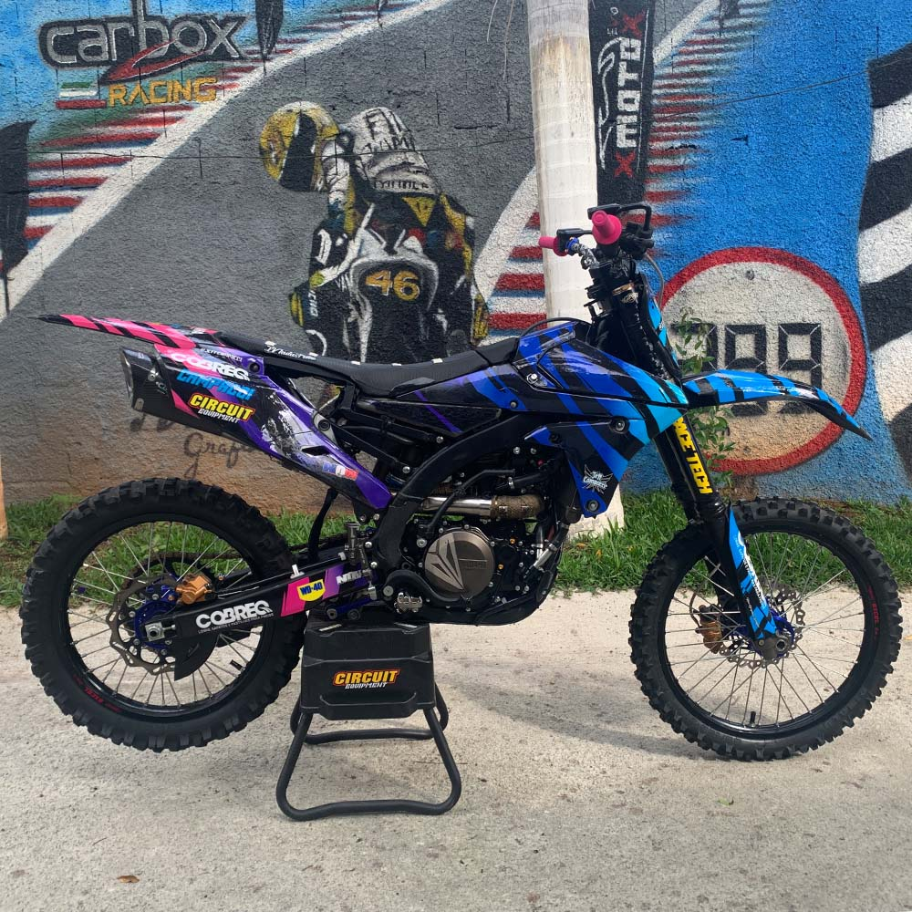 Ponteira Scorpion GP720 Carbon - YZ450