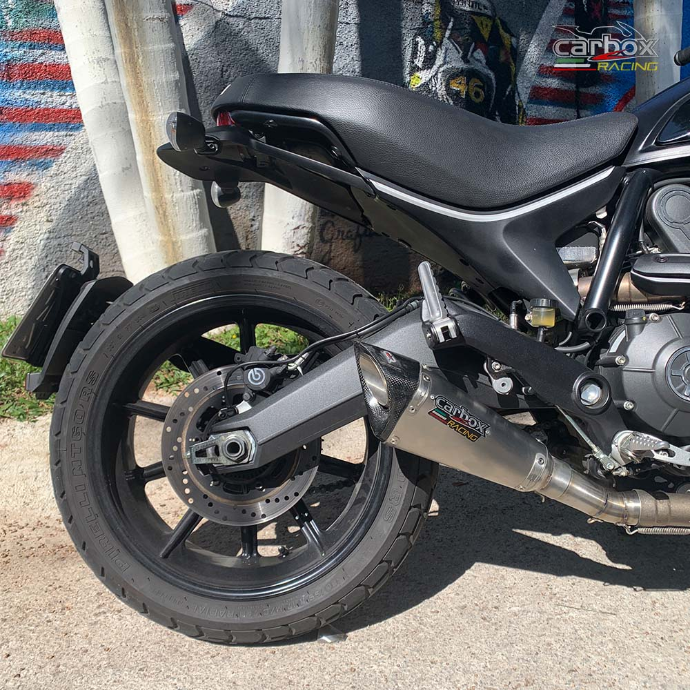 Ponteira Scorpion Gp720 Inox - Ducati Scrumbler
