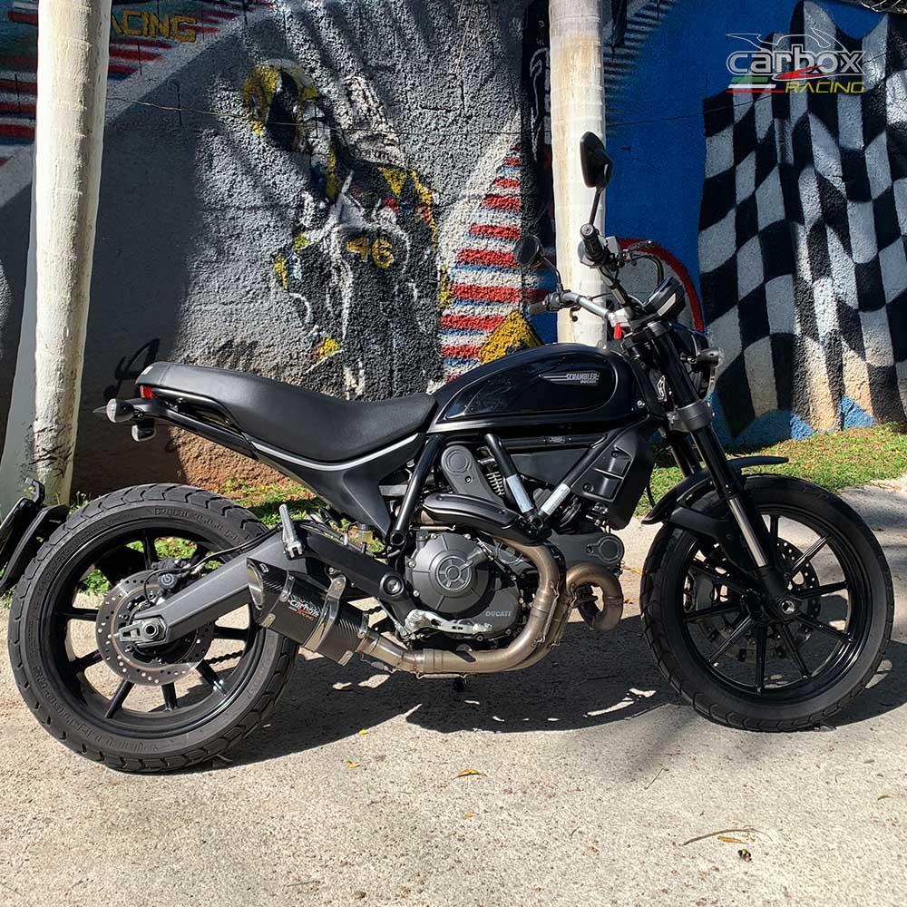 Ponteira Scorpion S725 Carbono - Ducati Scrumbler