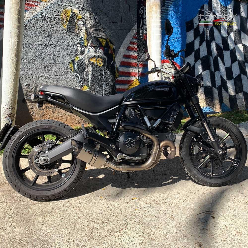 Ponteira Scorpion S725 Inox - Ducati Scrumbler