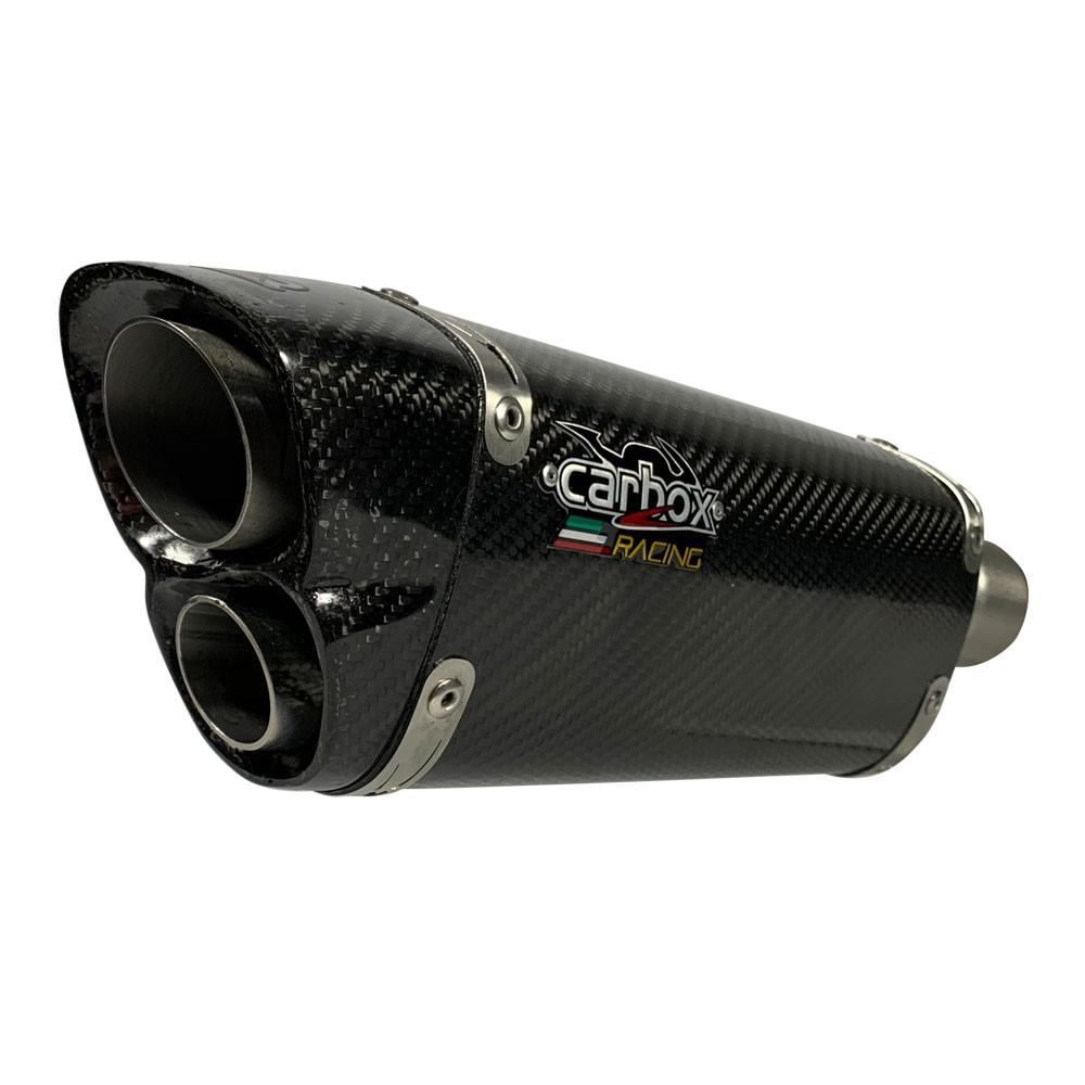 Ponteira V8 Carbon - Ninja 300 / Z300