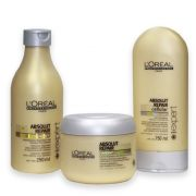 Kit Absolut Repair L´Oréal Professionnel Shampoo 250ml + Condicionador 150ml + Máscara 200g