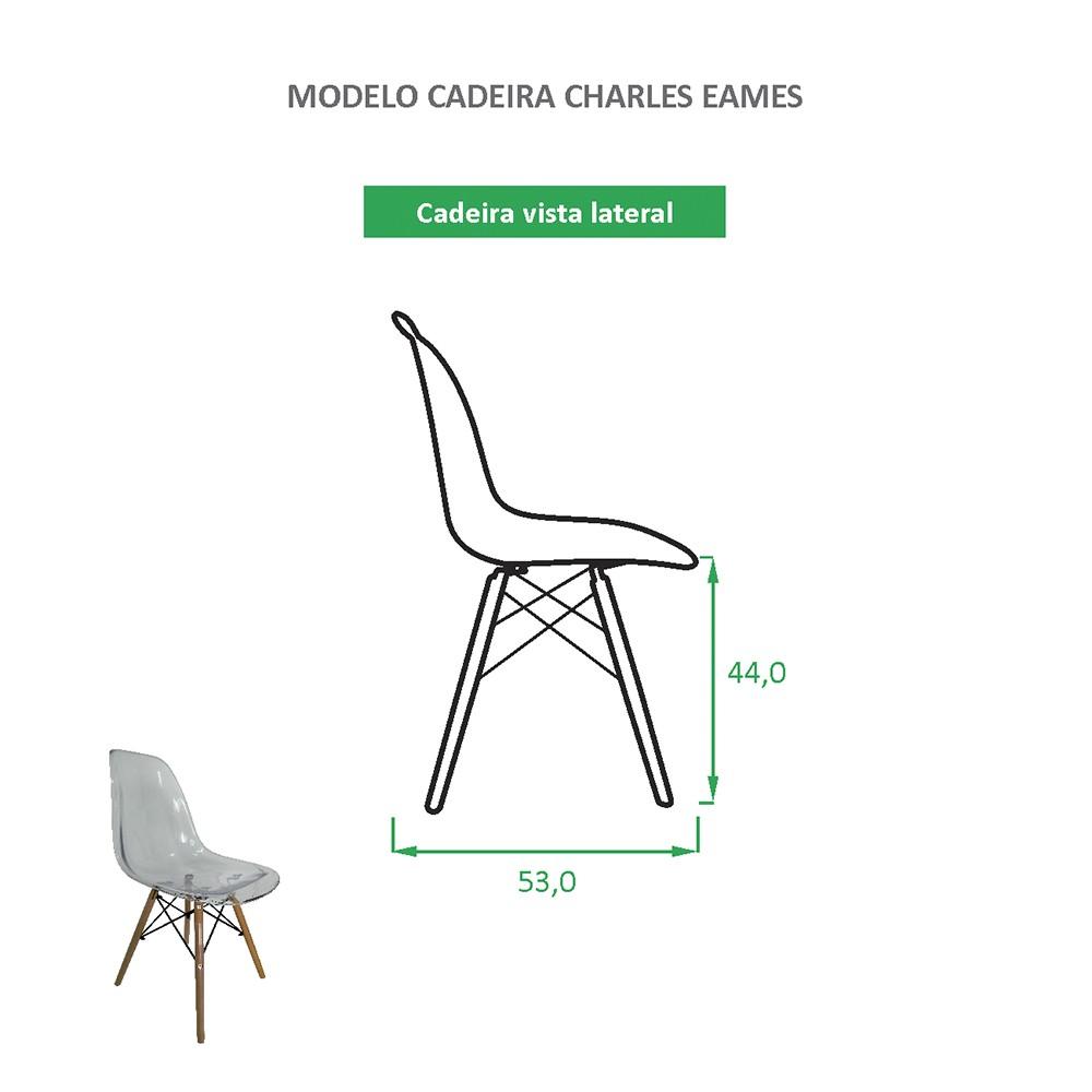 Cadeira Eames Eiffel Personalizada