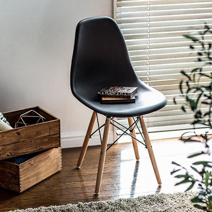 Cadeira Eames Eiffel Preta