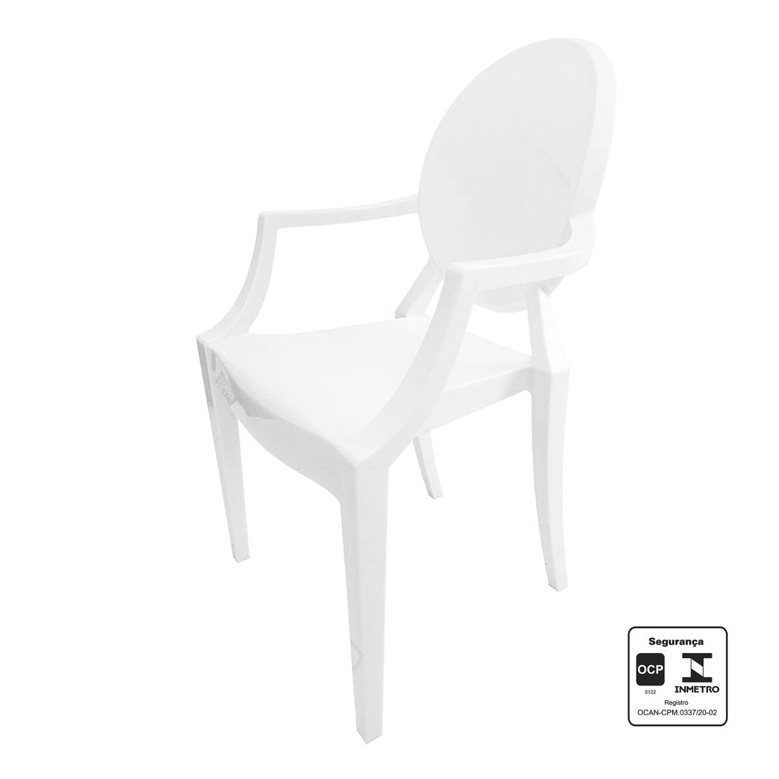 Cadeira Branca Policarbonato