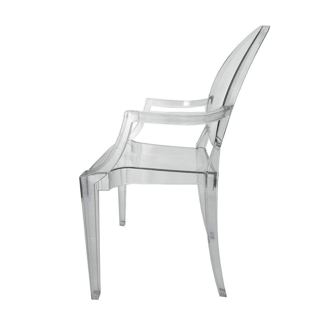 Cadeira Louis Ghost Transparente Policarbonato