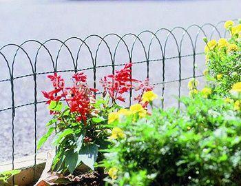 Tela Cerca Decorativa Jardim Verde 0,65 x 10 m