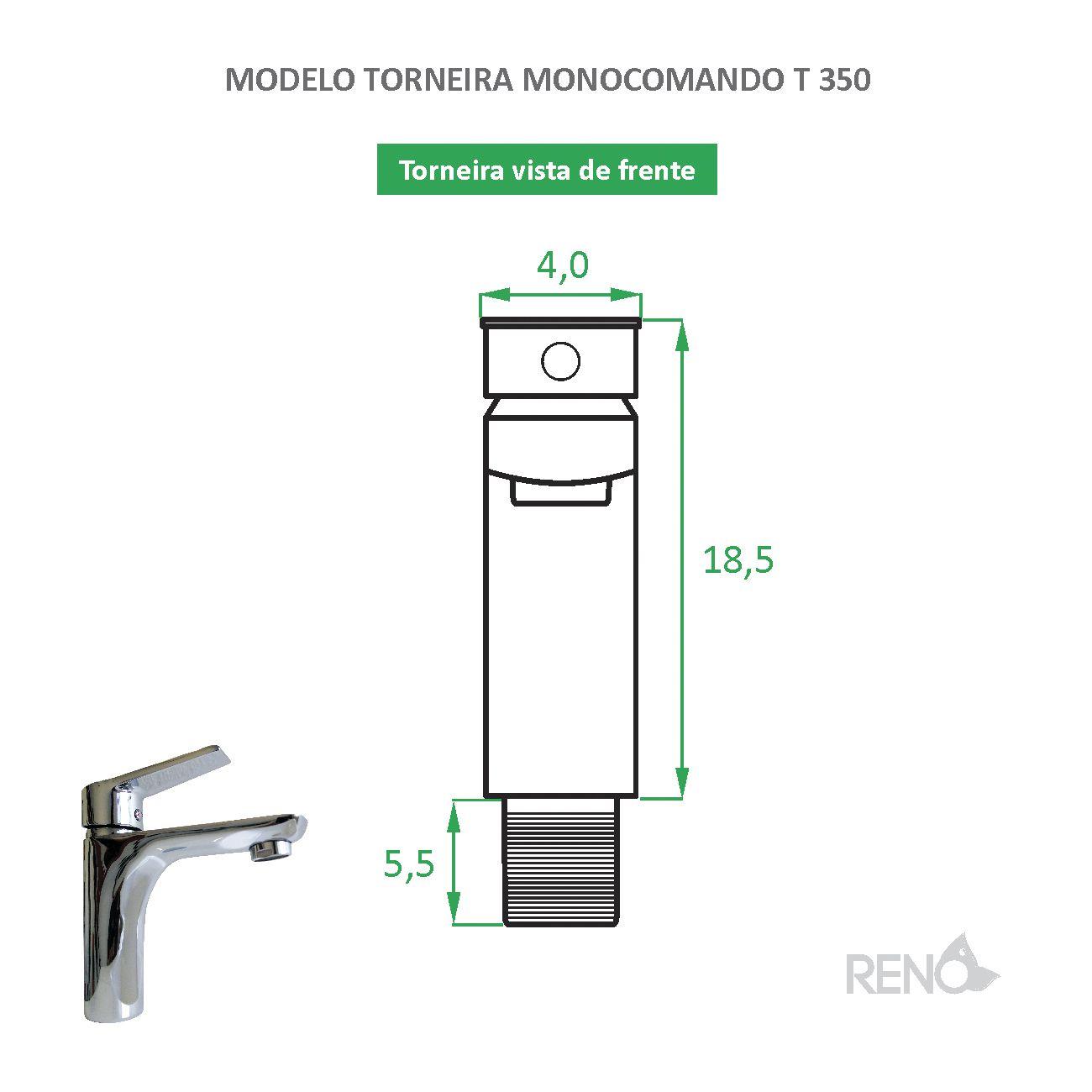 Torneira Monocomando T 350