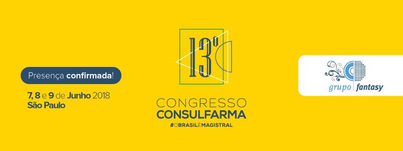 Consulfarma 2018 - Presença Confirmada!!!