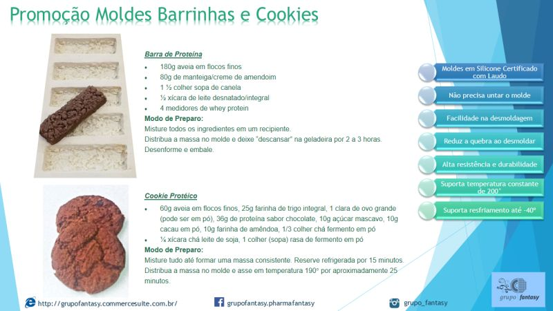 Barrinha Nutracêutica / Proteína