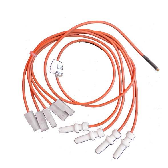 Chicote Acendimento Eletrodos Fogão Brastemp De Ville Grill e Consul 4 Bocas Original 326042419