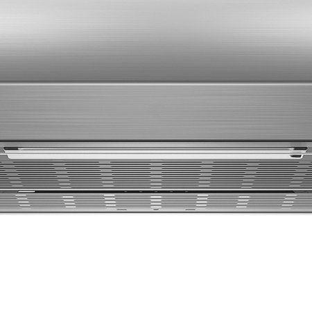Depurador de Ar Consul 60 cm Inox 4 bocas silencioso com filtro lavável - CAT60GR