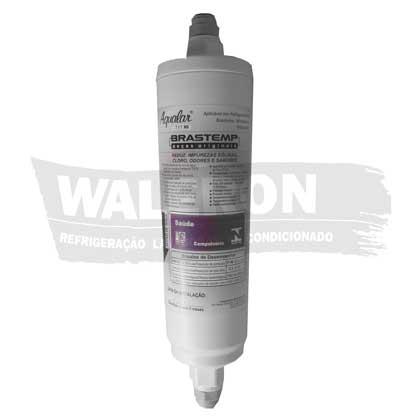 Filtro Água Geladeira Brastemp Side By Side BRS62 BRS70 Externo Original 326023173
