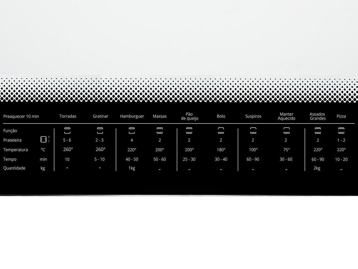 Forno Elétrico de Embutir Consul - 220V - COB84AR