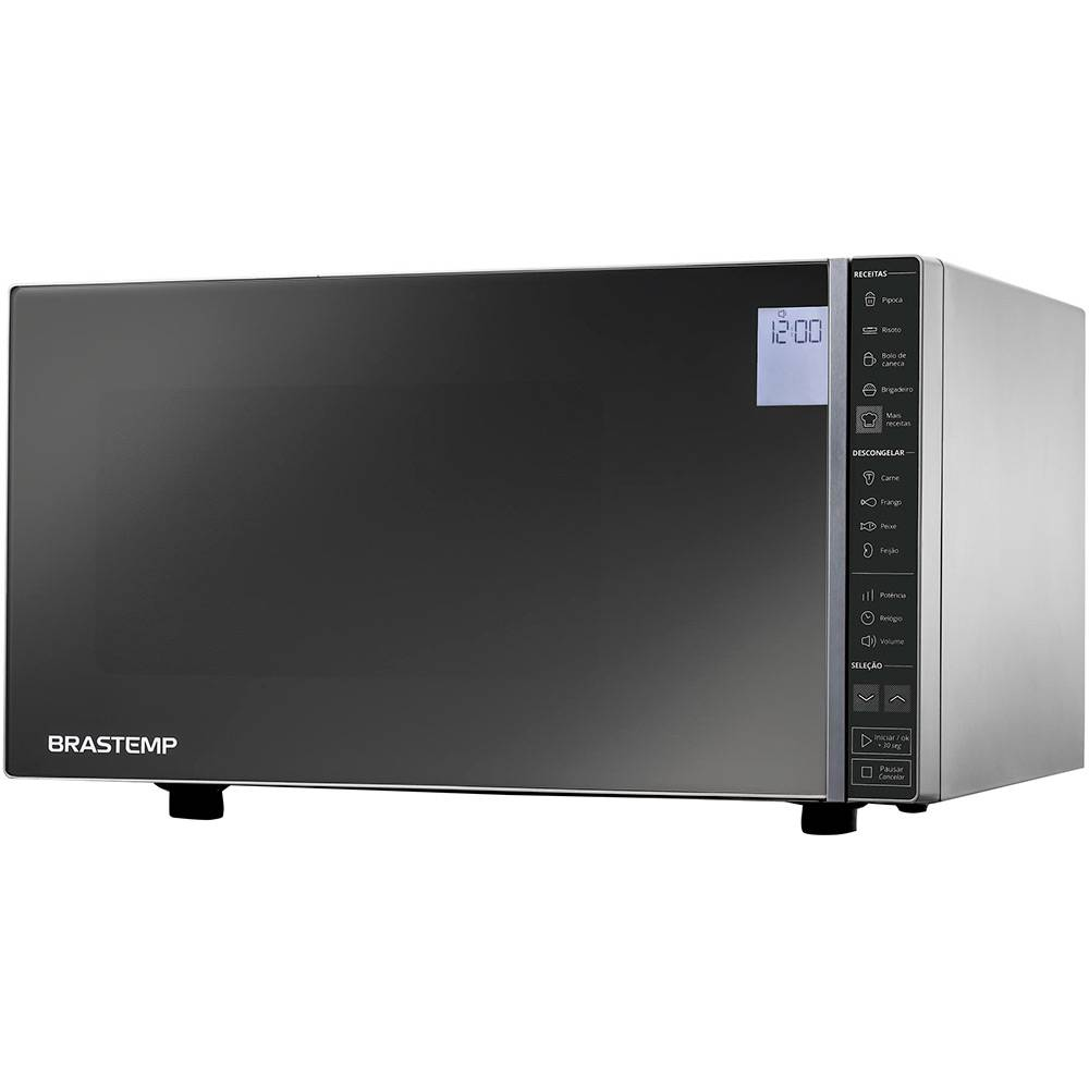 Micro-ondas Brastemp Cinza Espelhado 32 Litros - BMS45CR