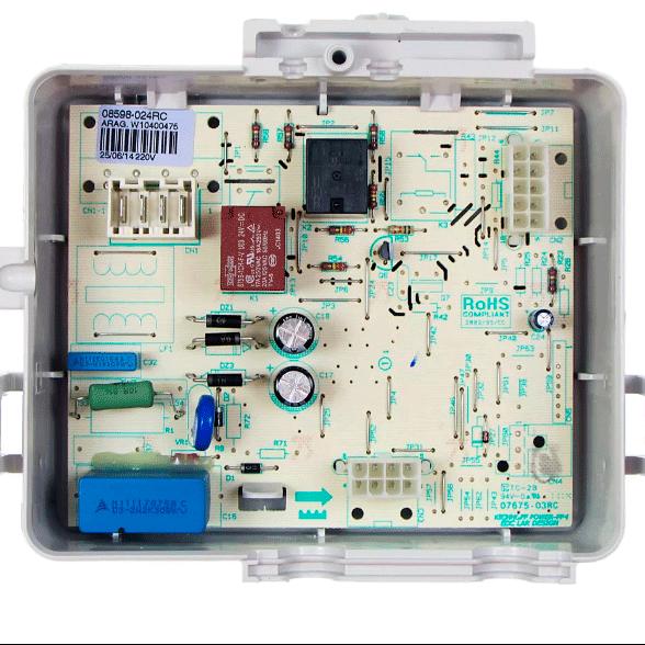 Placa Controle Eletronico 220V Geladeira Consul CRM50 Original W10405496