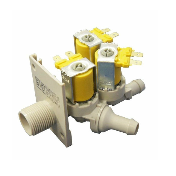 Válvula Lavadora Brastemp Ative Fast 127V 3 Vias W10408280 Original