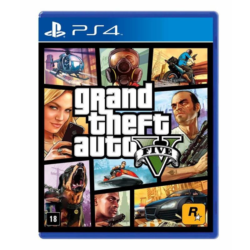 Game Grand Theft Auto V - PS4