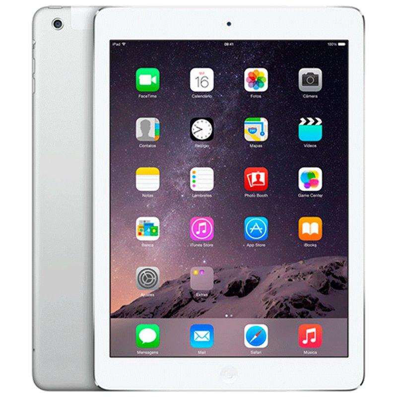 iPad Air 16GB Wi-Fi 4G 9.7´ Prata - Apple