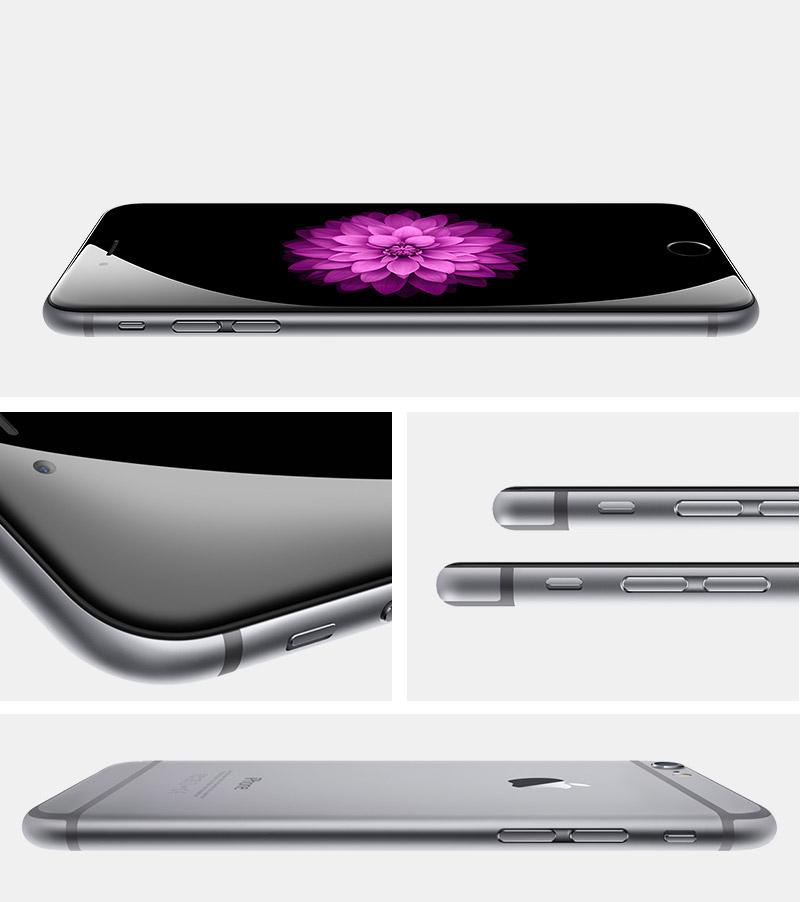 iPhone 6 16GB Cinza Espacial iOS 8 4G Wi-Fi Câmera 8MP - Apple