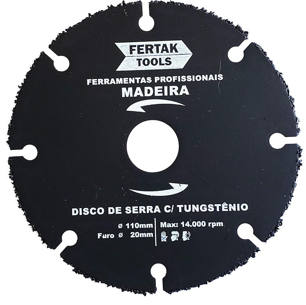 Discos Corte Madeira para Serra Mármore 110mm 05 Discos