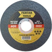 Disco de Corte Metal 115mm - 10 Discos