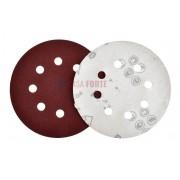 Disco de Lixa 125mm com Velcro Grão 100 8 Furos