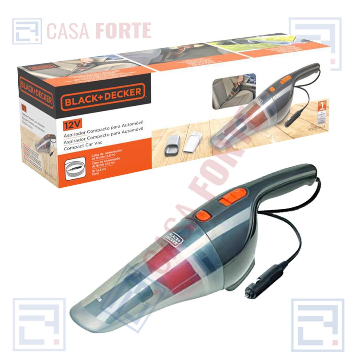 Aspirador p/ Automóveis 12v  Potência 12,5aw 370ml