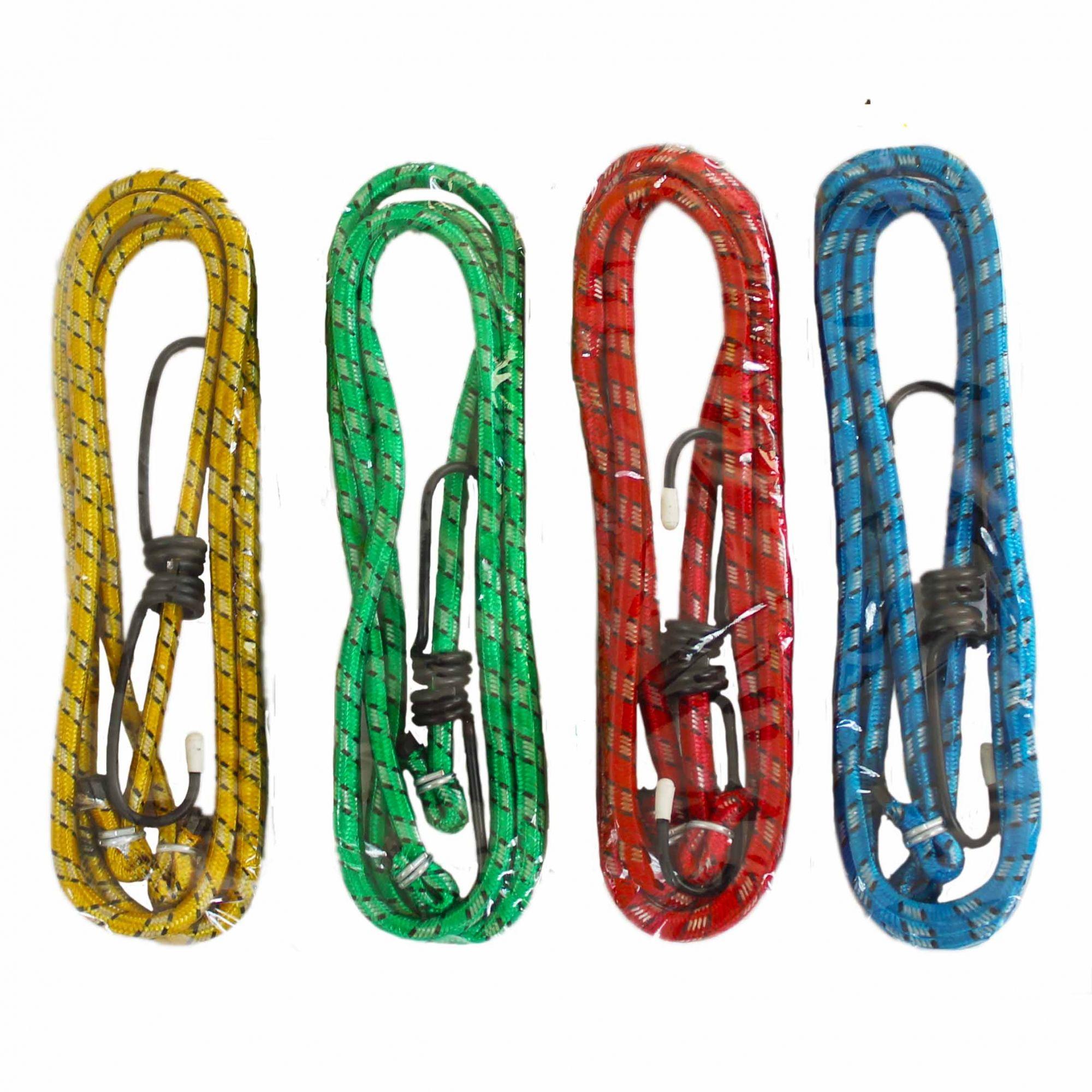Elástico para Bagageiro 1,5 mts  Embalagem com 04 cordas