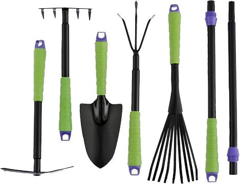 Ferramentas para Jardinagem com 7 Peças