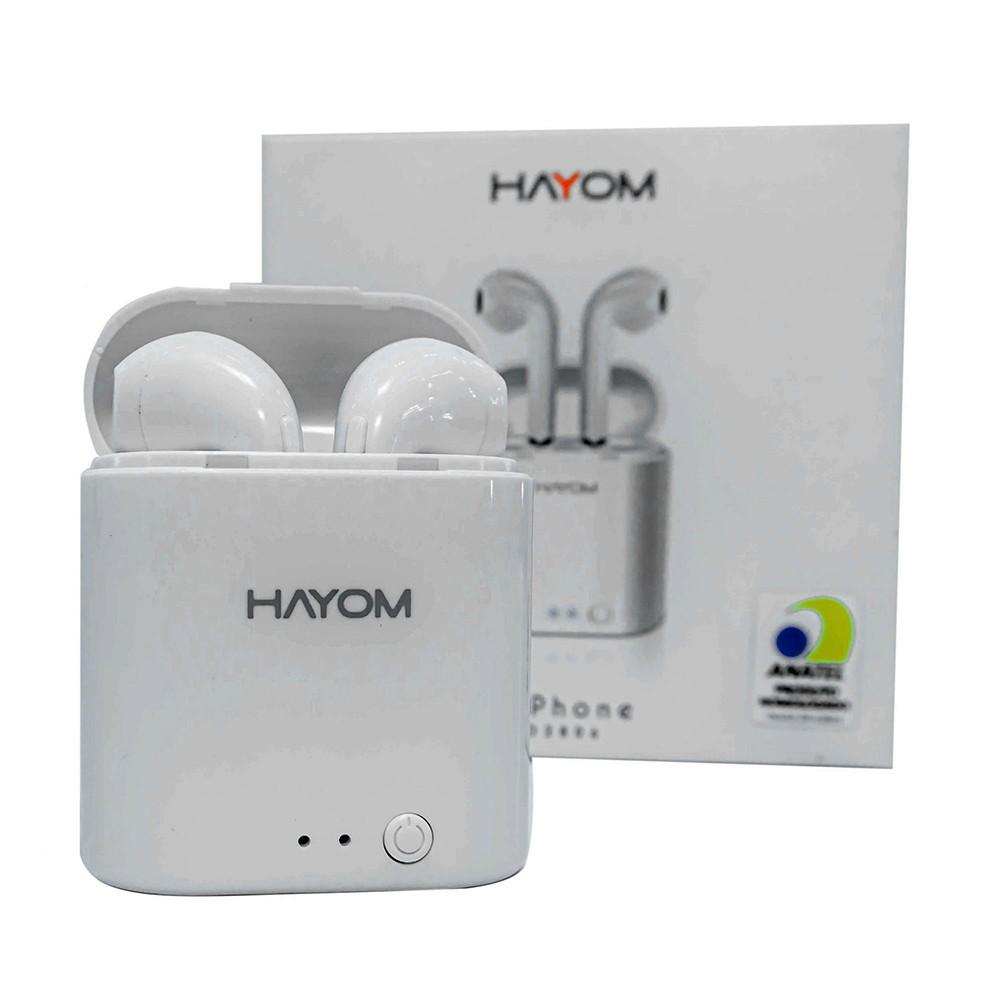 Fone de Ouvido Airphone Duplo Bluetooth 5.0 Sem Fio - FO2806