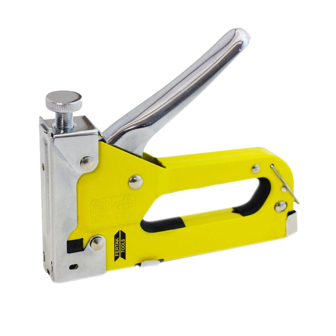 Grampeador em metal para Tapeceiro