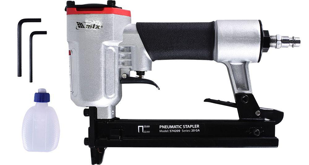 Grampeador Pneumático para Grampos de 10 a 22mm
