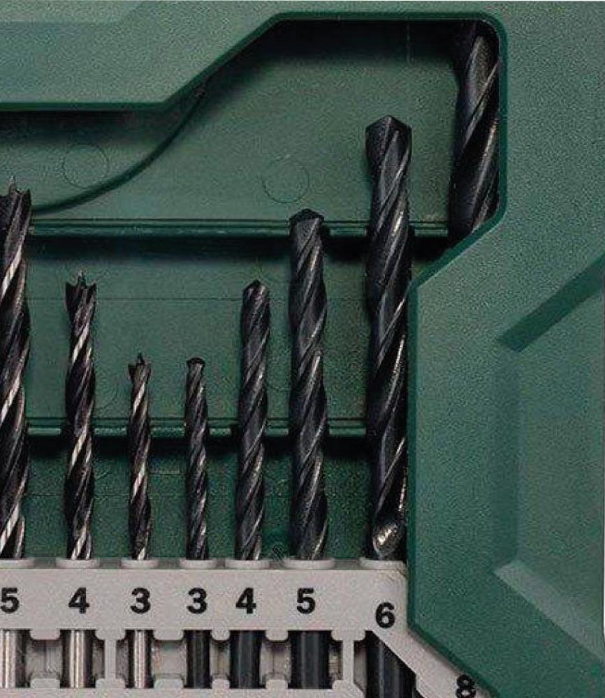 Jogo de Brocas Mini X Line com 15 brocas Bosch
