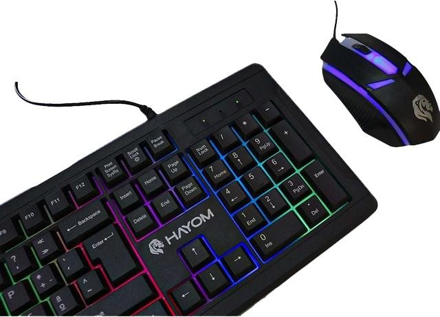 Kit Teclado Gamer Com Led e Mouse Gamer